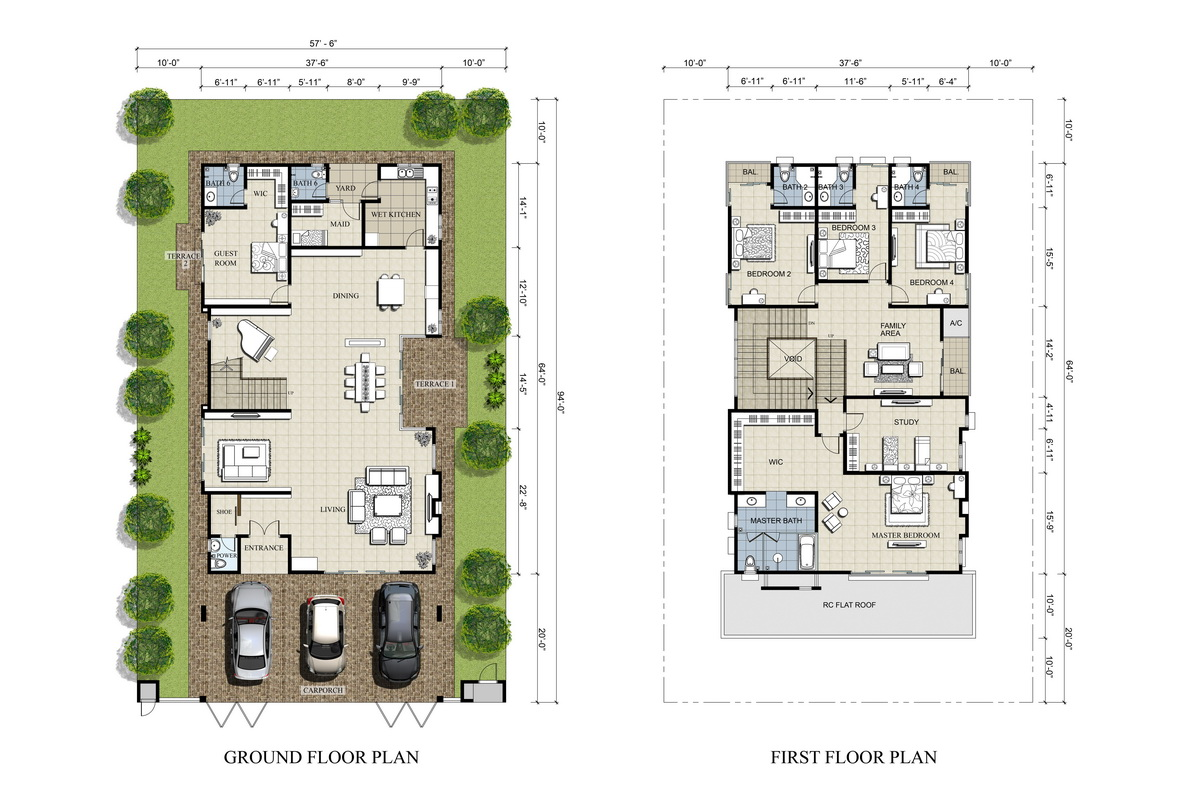 Contemporary house designs and floor plans malaysia for Malaysia house plan